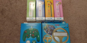 Nintendo Wii U and Wii games/remotes