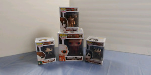 Funko Pops Marvel and Anime