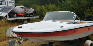 15' Vanguard Boat with Trailer