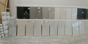 LARGE STOCK OF PORCELAIN TILES! STARTING AS LOW AS $0.99/SQFT!!!