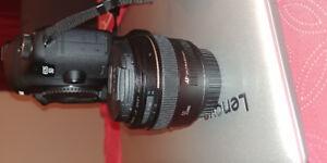Canon 50mm 1.4 + Canon 85mm 1.8 acheter il a 1mois facture dispo