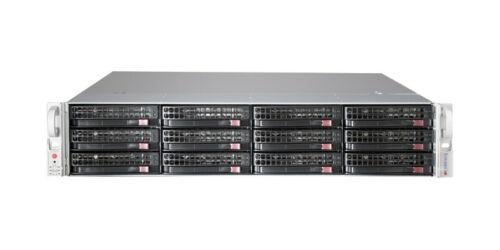 Supermicro 2U 12 Bay Server X9DRI-LN4F+ 2x Xeon E5-2630 V2 12 Core SAS2 RAID