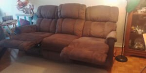 Double recliner for sale.