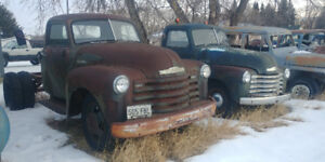 Truck Selloff 1947-53 GM, and 1 Jeep