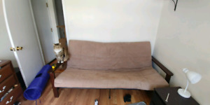 DOUBLE BED SIZED FUTON