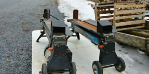 2--KING 5 TON LOG SPLITTERS 150.00