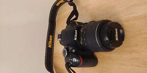 Nikon D3200 DSLR with 18-55mm lens kit