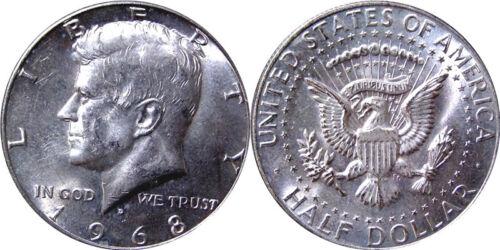 Kennedy Half Dollars 40% Silver 1965-1970, Choose How Many