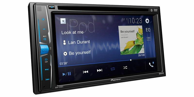 Pioneer Double DIN Bluetooth In-Dash DVD/CD Digital Media Car Stereo Receiver