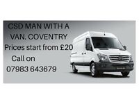 Csd Man with a Van Coventry