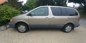 Toyota  SIENNA 2003 for sale by original owner, 315K, road ready