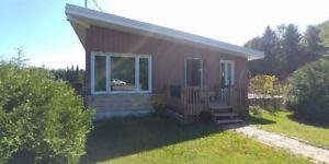 Maison à vendre Rawdon 115 000$ seulement (2 chambres à coucher)