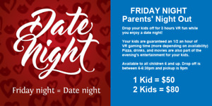 Need a Babysitting? leave them with us Friday nights!!