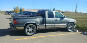 99 chev 4x4 on 22s trade for sled