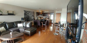 3 1/2 Condo For Rent Condo a Louer Laval Downtown Parking Inclus