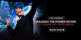 Unleash The Power Within - London - 2017 - Gold Ticket