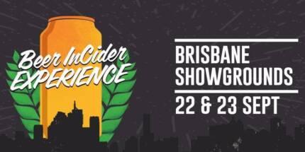 Beer in Cider Ticket - BRISBANE 22nd and 23rd September