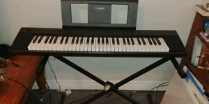 Yamaha Piaggero np12 Keyboard and Stand