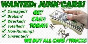 Junk cars trucks vans suvs top prices paid cash