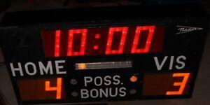 Naden Solid State Electronic Scoreboard