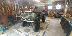 1000cc yamaha r1 golf cart