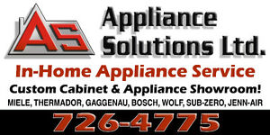 Appliance parts and service!
