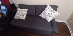 Modern Blue Loveseat Great Condition