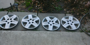 """Four 16"""" hubcaps ( westbank )"""