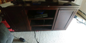 Futon coffee table and tv stands
