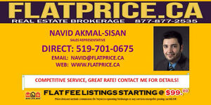 List With FlatPrice.ca & Save! MLS Listings Starting @ $99!