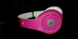 Pink Beats Studio Headphones