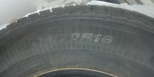 Winter tires for Kia Sportage 2011