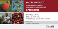 Agassiz Research and Development Centre Open House