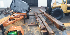 Saw Milling and Sawn Lumber Available