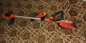 Black and Decker 18V Cordless Line Trimmer (2 batteries)