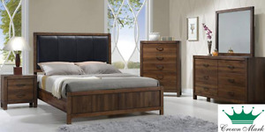Brand NEW Belmont Complete Queen Bed ! Call 204-726-3499!