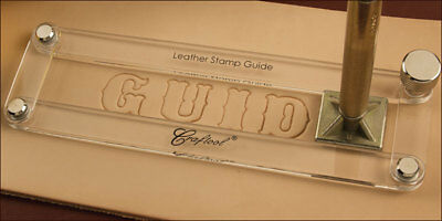 Leather Stamp Guide - Craftool/Tandy leather #3603-00 Free Shipping to US!