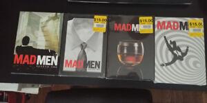 Madmen season 1,2,3,4