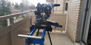 """Mastercraft 12"""" Sliding Duel-Bevel Mitre Saw with Stand"""