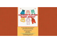 CHILDREN CLOTHING SWAP PARTY - 25 September 2021 from 1 to 4pm, £3/FREE