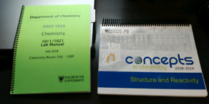 Chemistry 1011 Textbook and Lab Manual