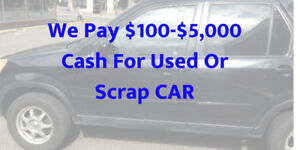 CASH ON THE SPOT FOR YOUR VEHICLE 647-642-6142