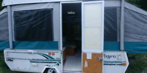 Pop up camper, trade for atv