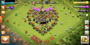 Clash of clans Max hero th 1.11 engineered account
