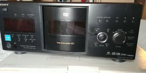 SONY 400-disc DVD/CD/SACD changer with digital video output