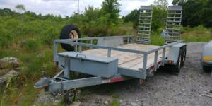 16ft galvanized trailer
