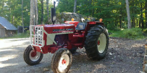 Tracteur International 574 diesel