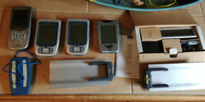 Various Remotes & Charging Bases: Crestron, RTI, Phillips, Rotel