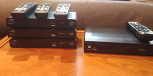 Shaw Direct HD and PVR Receivers