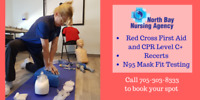 Certified Red Cross First Aid Courses